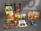 Non-Fiction Book DUNGEONS AND DRAGONS